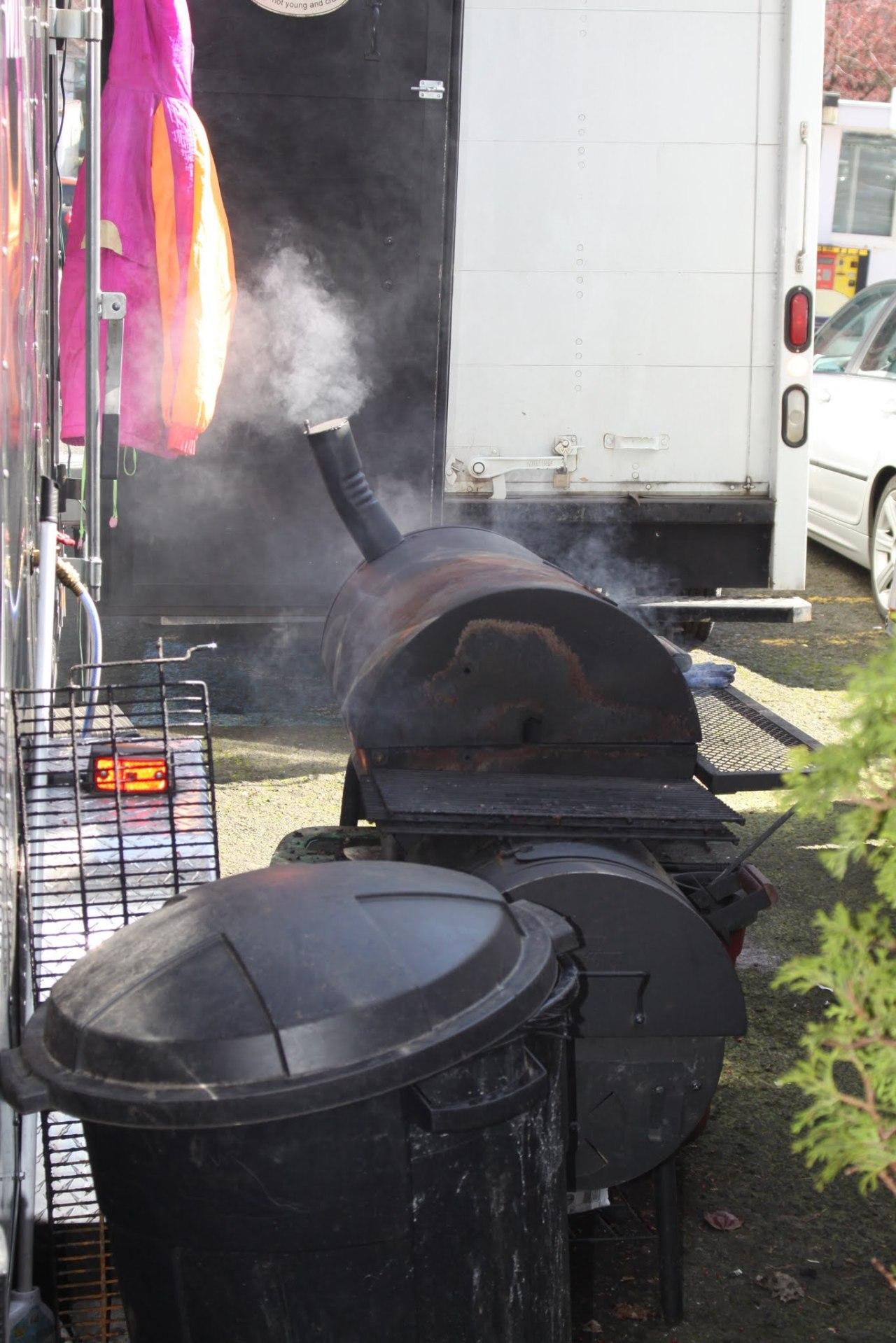 Outdoor BBQ  whats missing Handwashing setup