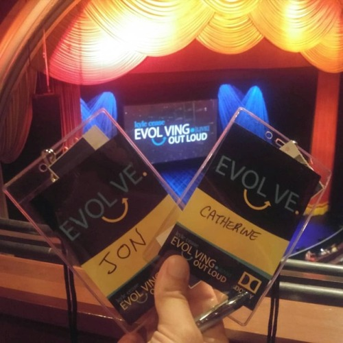 Day 1 of #EvolvingOutLoud with @evolvingoutloud is complete. Complete shifting and fully authentic feelings are coming forward. #kylecease #ihopeiscrewthisup #dolbytheatre #losangeles #feelthefear #andILovethat #hollywood #authenticself #innerchild #soulwork #transformation #livinginthenow #passtherobitussin #lettinggo (at Los Angeles, California)