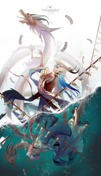 anime water dragon tumblr