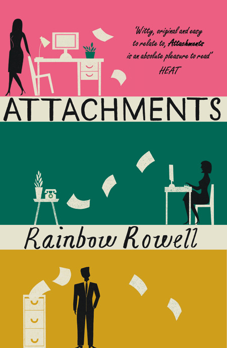 Image result for attachments rainbow rowell cover