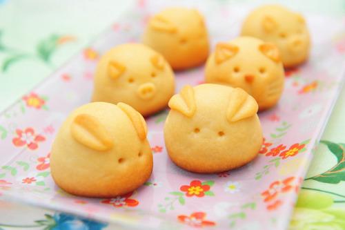 Q版奶黃兔仔月餅 [餅皮篇] - Yahoo Food