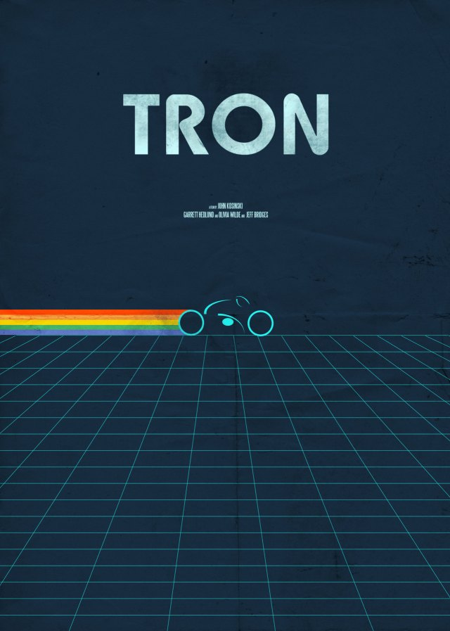 Day 22 of 365 – TRON. Buy this Poster.