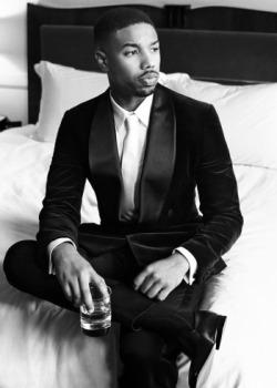 black men in suits