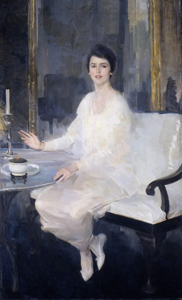 Women Painters - Cecilia Beaux American 1855 1942 Ernesta