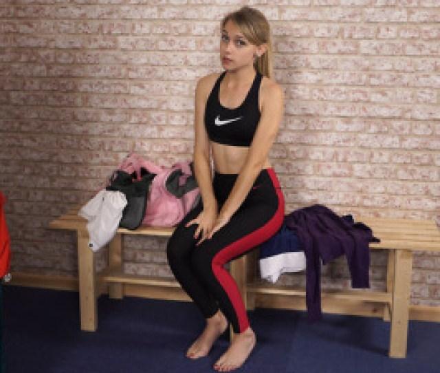 Chloe Toywoman Sportswearexerciseblondelong Haircaucasianuk Girl