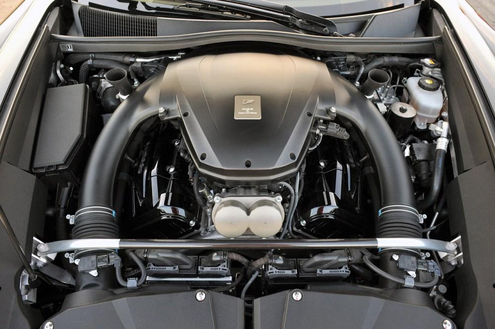 medium resolution of beautifully engineered lexus lfa production versus prototype engine bay