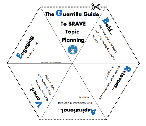 Guerrilla Education Blog — Guerrilla Curriculum Part IV