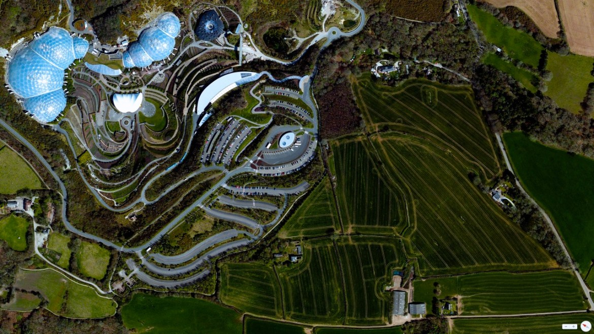 The Eden Project Cornwall, England, United Kingdom 50°21′43″N 4°44′41″W