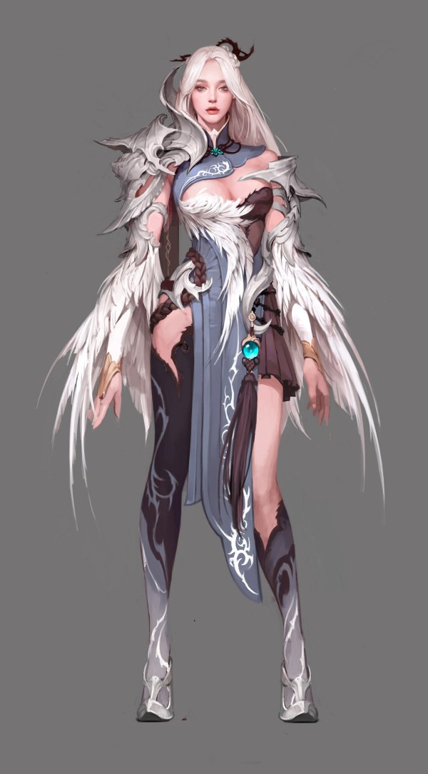 Amazing Digital Art - Character Concepts Siwoo Kim Beginner