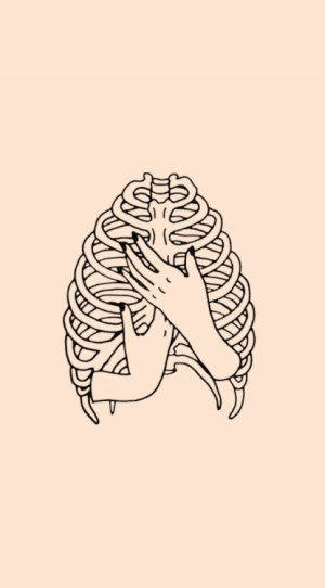 outline draw phone drawing heart hand backgrounds hands drawings fondos sketches wallpapers tattoo 1280 reblog background brain