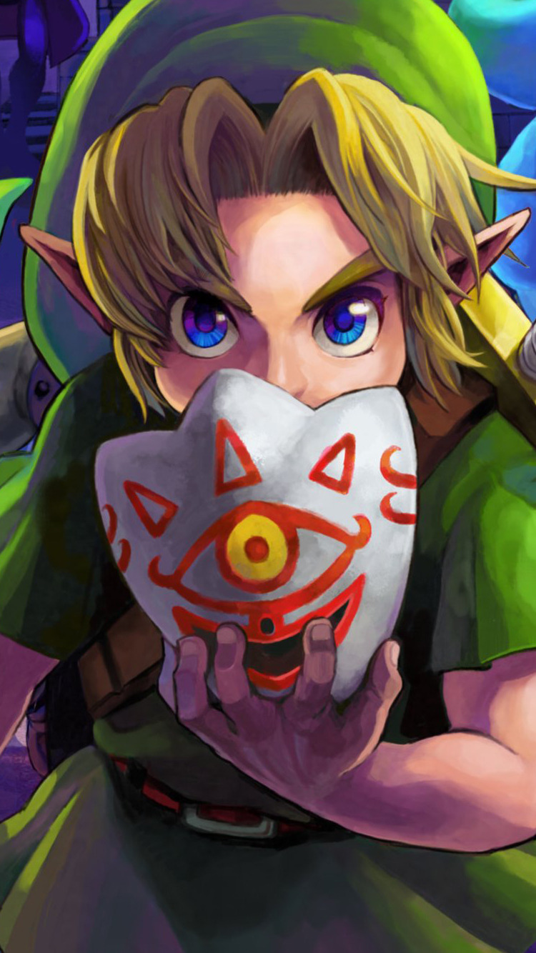 Legend Of Zelda Wallpaper Iphone X Majora S Mask Iphone 6 Wallpapers Click Here For Downloads