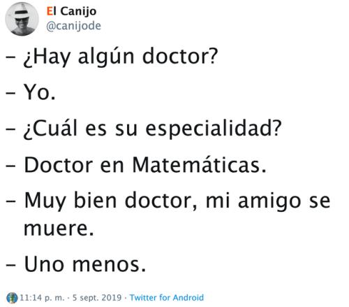 Doctor en chorradas