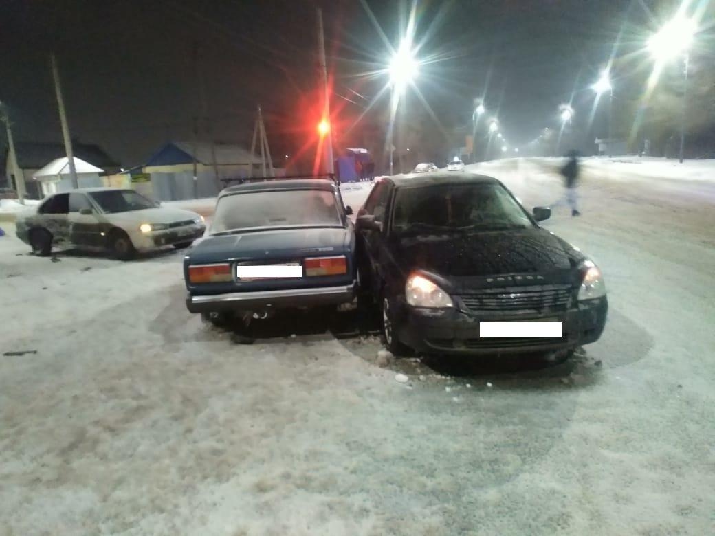 Двое несовершеннолетних пострадали в ДТП в Оренбурге