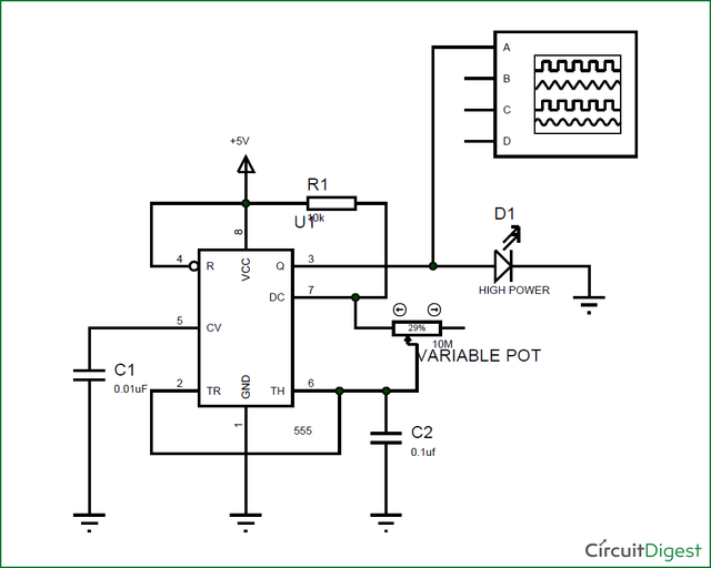 Circuit Digest — LED Strobe Light Circuit In this project