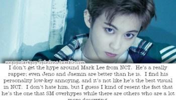 Mark Lee would smoke Mark Tuan in a rap battle… – KPop Fan