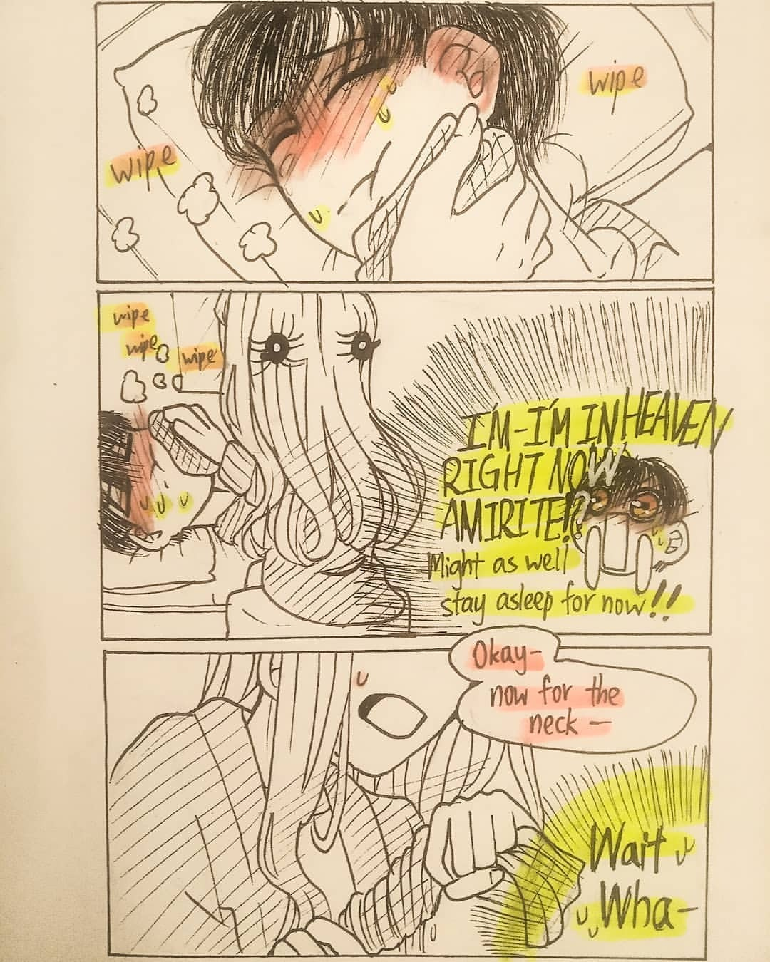 Yashiro must now clean toilets for hanako. Popsineko arts — Sketches of Ray and Zack from Aod
