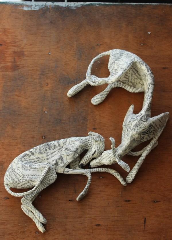 Beginner Paper Mache Sculpture