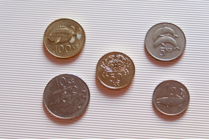 Yahoo奇摩旅遊編輯部 — 【冰島貨幣換錢】超吸睛!冰島克朗硬幣全是海洋生物