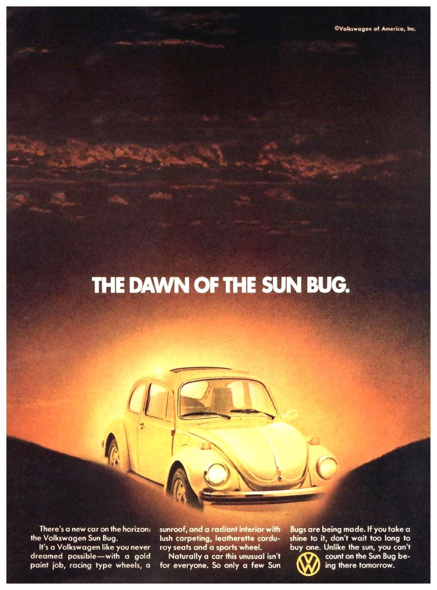 hight resolution of dawn of the sun bug volkswagen beetle sun bug 1974 1974
