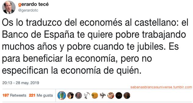 De economés a castellano