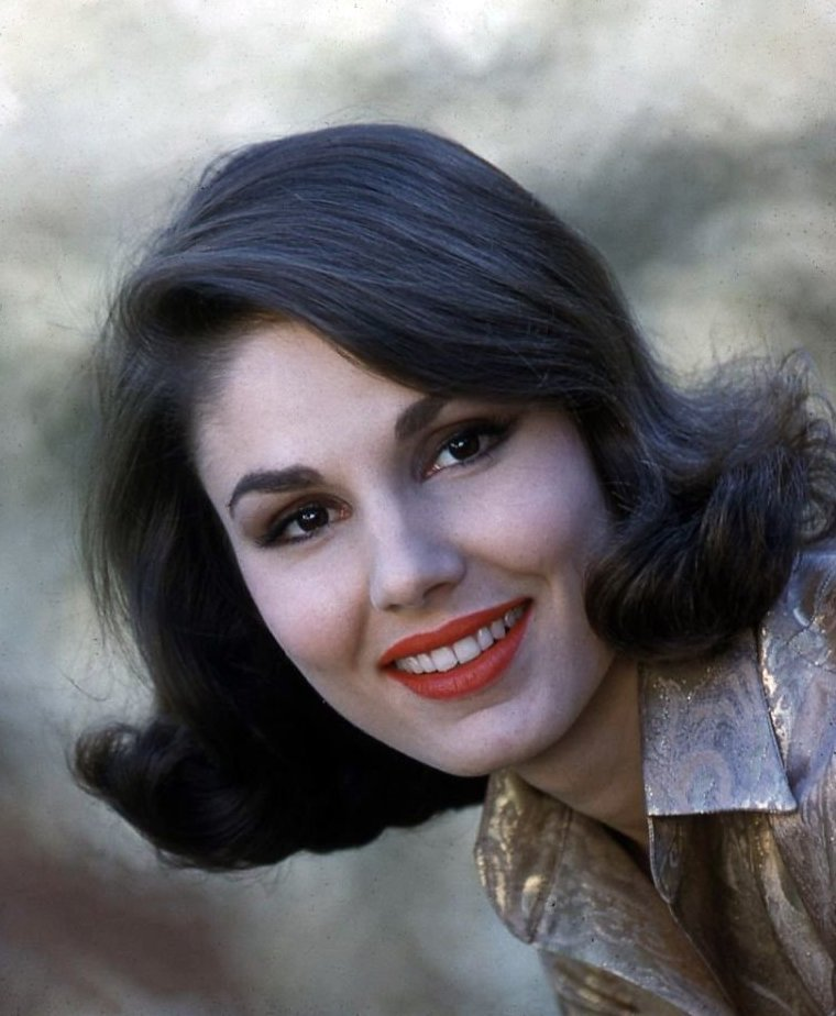 Paula Prentiss photographed by Don Ornitz, 1960.