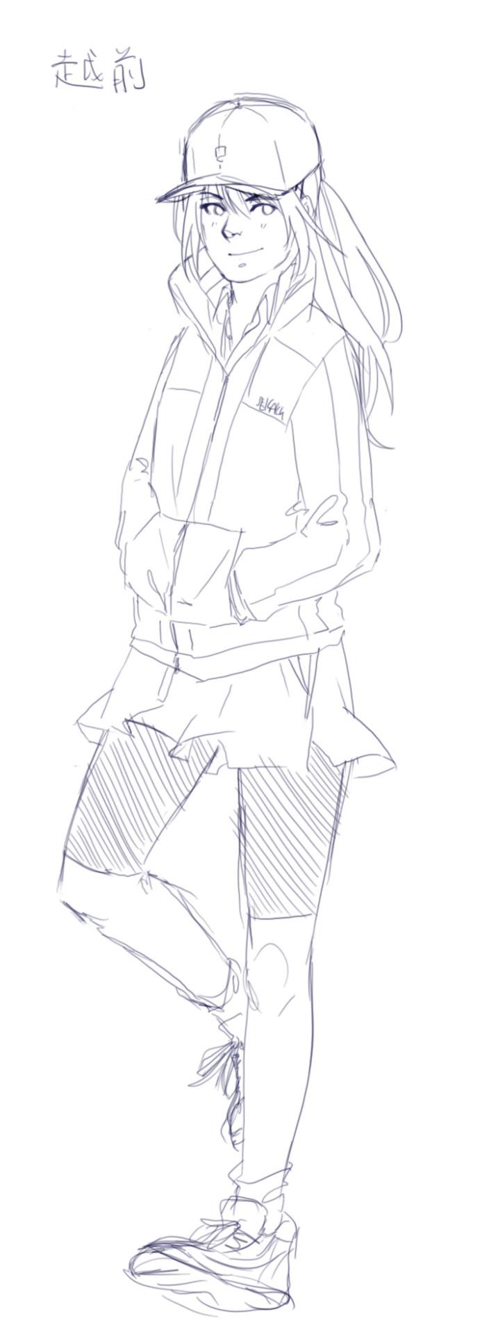 Luca Lee — Prince of Tennis: Echizen Genderbent Seigaku...