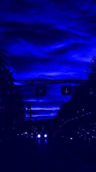 Midnight Blue Dark Blue Aesthetic : midnight, aesthetic, Tumblr, Aesthetic, Wallpaper