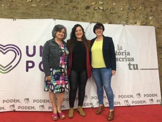 """Vanessa Angustia afirma en Valencia que esta comunidad """"reúne las claves que el proyecto de Unidas Podemos cambiar Europa propone para la UE"""""""