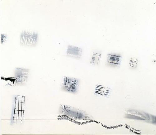 tumblr_lq8ghf59Az1qfc4xho1_500 American artist Richard Prince, Yes an No Yes and No, 1993 Contemporary