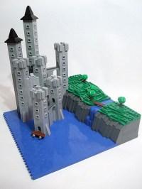LEGO Express  lego-microscale: Kazalaeam Castle (by wobnam)