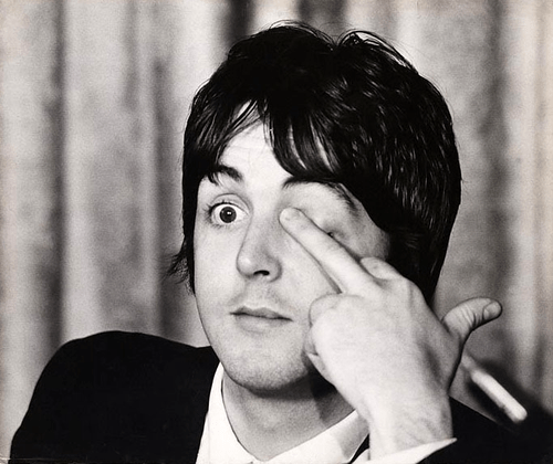 Image result for paul mccartney illuminati