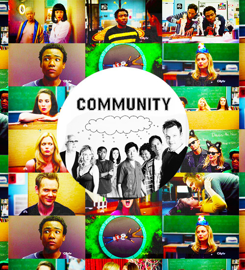 "drake-ramoray: "" 10 Currently airing shows # Community. """