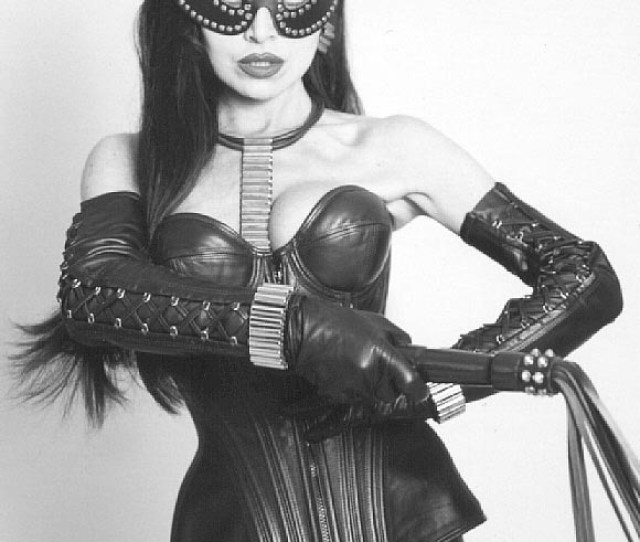 Shadwickc Masked Leather Domme