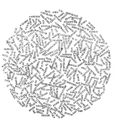 Visual-Poetry — concrete poems by carl andre