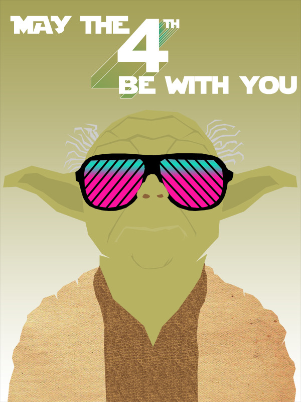 May The 4th be with you, yoda, star wars, star wars day, may the 4th, chilled yoda, may the 4th yoda, cool yoda, funny yoda
