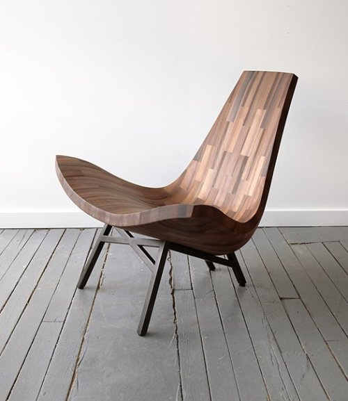 wooden lounge chair small space table and chairs water tower a designed by bellboy collaborative wood shop