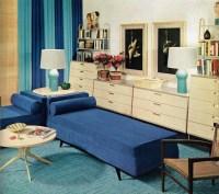 Remarkably Retro - Living room design, 1953