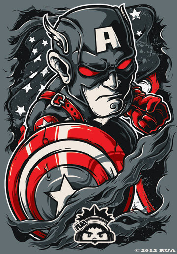 Bape Iphone 7 Wallpaper Herochan Avengers Illustrations By Ruel Jun Andaya