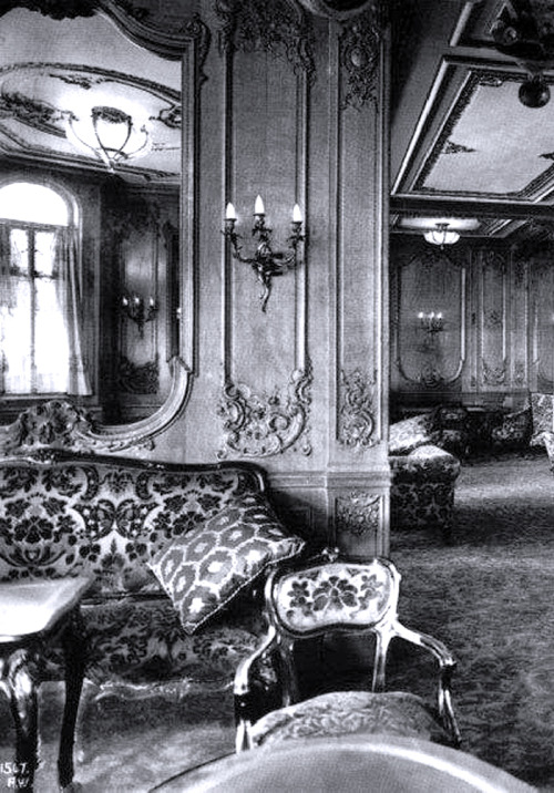 magnificenttitanic The First Class Lounge on  for