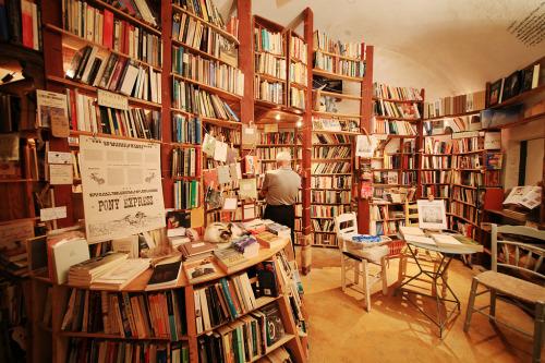Resultado de imagen para atlantis bookshop santorini