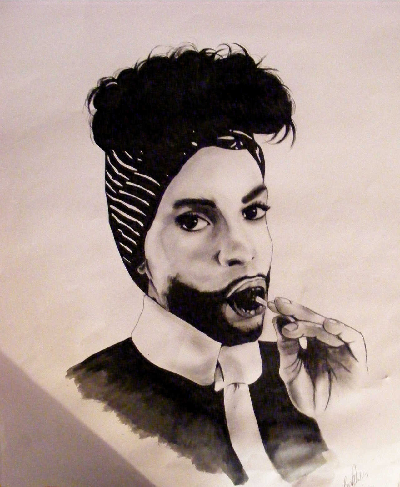 Drawing i did of Prince