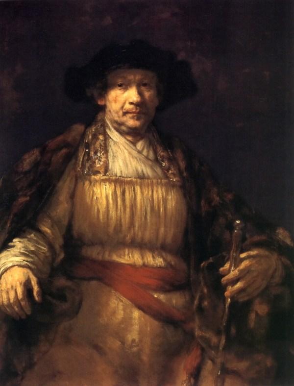 Draw Paint Print Rembrandt Portrait 1658