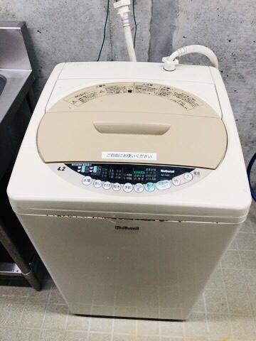 早川町オートキャンプ場洗濯機