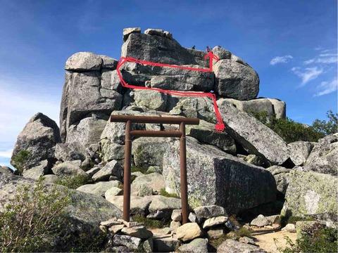 五丈岩ルート