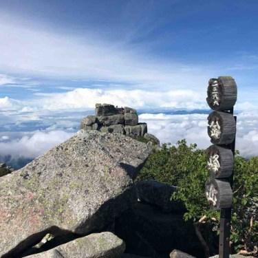 大弛峠から金峰山に登ってきました 【お五丈岩攻略ルートも掲載】