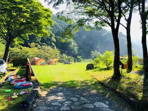 神ノ川キャンプ場