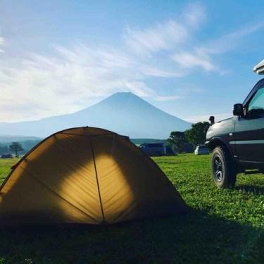 ふもとっぱらキャンプ場と竜ヶ岳登山【キャンプと軽登山を楽しもう】