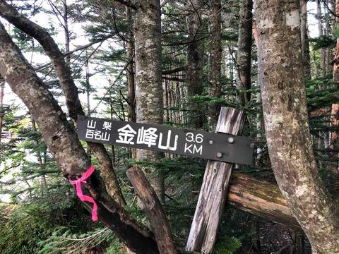 金峰山登山口