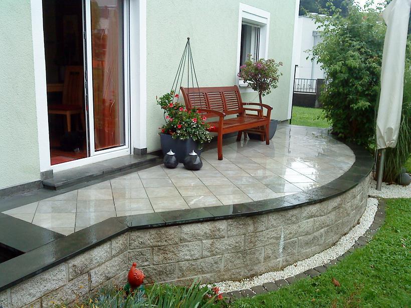 Terrasse Renovieren Mit Stein Und Holz Seite 1 Terrasse