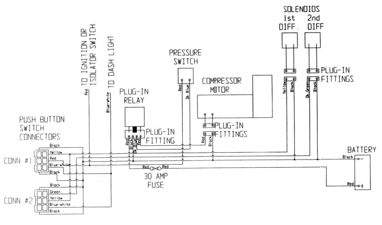 Elektro Schaltplan Jeep Cj7